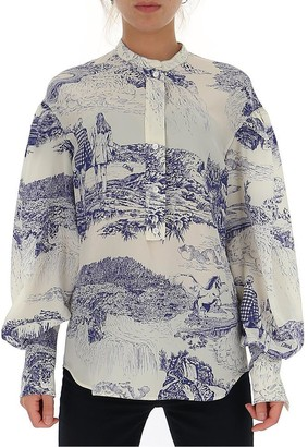 Chloé Graphic Printed Shirt