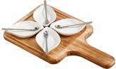 Sheridan Wood Nine-Piece Serving Board Set