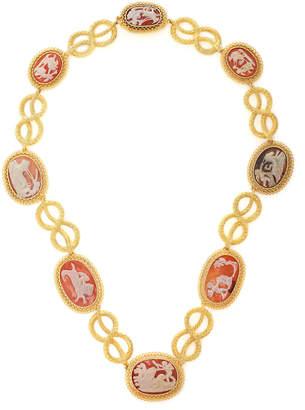 Simon Teakle Antique Cameo Necklace