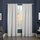 west elm Greenwich Curtain + Blackout Liner - Ivory