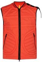 Craig Green 5 Moncler Huff Down-filled Cotton Gilet - Mens - Orange