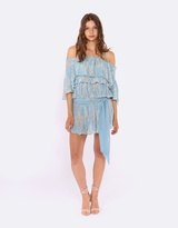 Coco Ribbon Off the Shoulder Dress