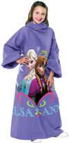 "Disney Kids' Frozen Elsa & Anna ""Sisters"" Comfy Throw"