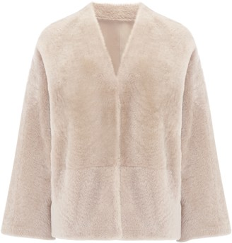 Gushlow & Cole Shearling Cardigan Jacket