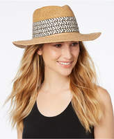Nine West Mixed-Texture Panama Hat