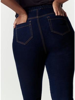 Evans Jegging Jeans - Indigo