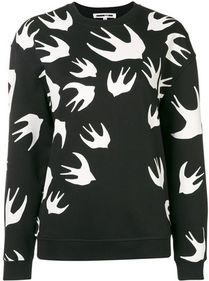 McQ Swallow Sparrow Intarsia Jumper