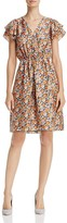 Rebecca Taylor Moonlight Floral Print Dress