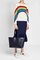Anya Hindmarch Printed Leather Tote