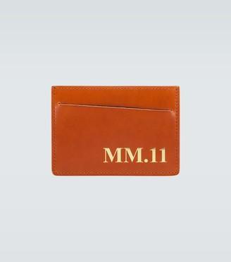 Maison Margiela MM11 leather cardholder