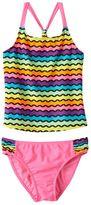 Girls 4-16 SO® Rainbow Waves 2-pc. Racerback Tankini Swimsuit Set
