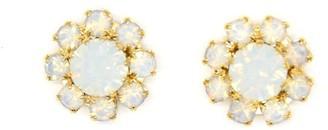 Rosaspina Firenze Florentine Garden White Stud Earrings