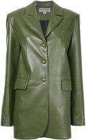 Materiel long blazer