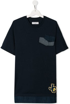 John Galliano TEEN graphic-print T-shirt