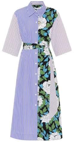 Diane von Furstenberg Striped cotton shirt dress