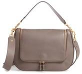 Anya Hindmarch Maxi Vere Leather Satchel - Grey
