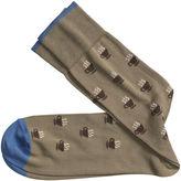 Johnston & Murphy Coffee Cup Socks