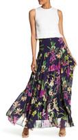 Karen Millen Orchid Printed Tiered Skirt