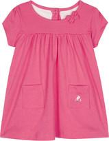 Petit Bateau Layered cotton bodysuit dress 3-24 months