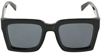 RetroSuperFuture Ancora Black Squared Acetate Sunglasses