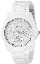 GUESS Women's U0232L6 White Sport Multi-Function Watch