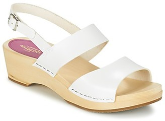 Swedish Hasbeens HELENA women's Sandals in White