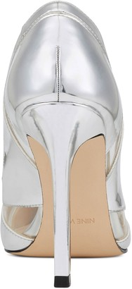 Nine West Slip-On Pointed Toe Dress Pumps - Tamika