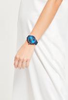 Missguided Navy Matte Chrono Detail Bracelet Watch