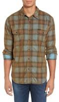 True Grit Men's Ventura Vintage Plaid Corduroy Shirt