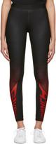 Givenchy Black Paris Sport Leggings