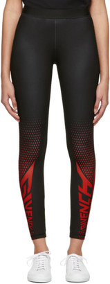 Givenchy Black Paris Sport Leggings
