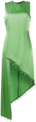 David Koma Asymmetric Cocktail Dress