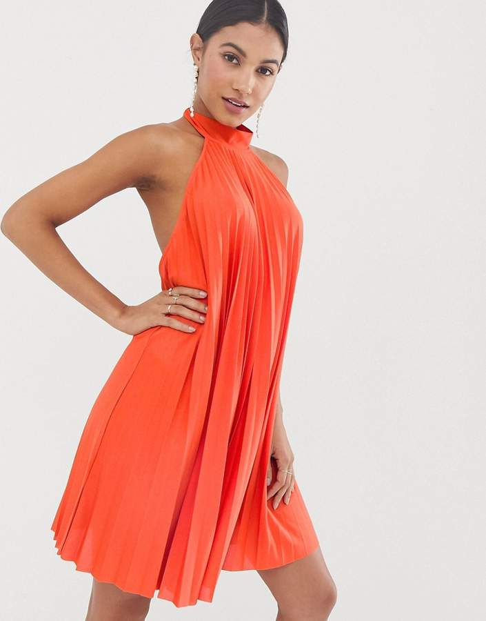 1bc4eb2b73 Backless Halter Dress - ShopStyle
