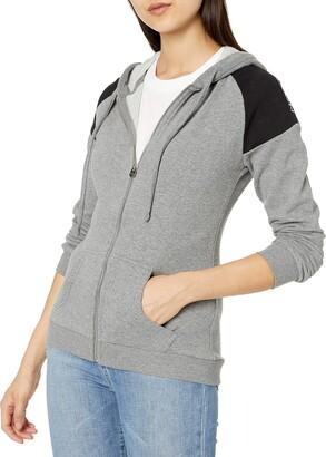 True Religion Women's Long Sleeve Active Zip-Up Hoodie