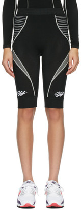 Off-White Black Seamless Cycling Shorts