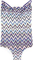 Missoni Kids zig-zag pattern swimsuit