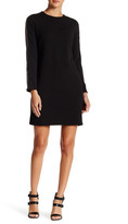 Julia Jordan Studded Long Sleeve Sheath Dress