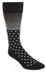 Cole Haan Stripe & Dot Socks