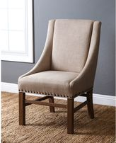 Abbyson Living® French Vintage Linen Sloped Armchair in Wheat