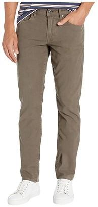 Hudson Blake Slim Straight Twill Jean (Gravel) Men's Casual Pants