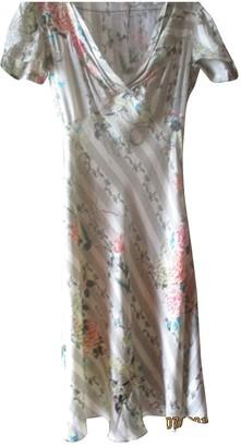 John Galliano Ecru Silk Dress for Women