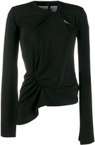 Unravel Project asymmetric long sleeve top