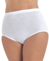 Vanity Fair Women's Perfectly Yours Seamless Jacquard Brief Panty 13096