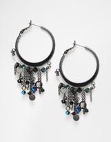 Pilgrim Statement Hoop Earrings