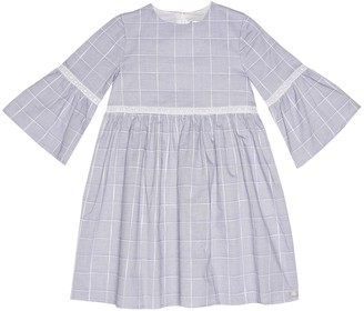 Tartine et Chocolat Checked cotton dress