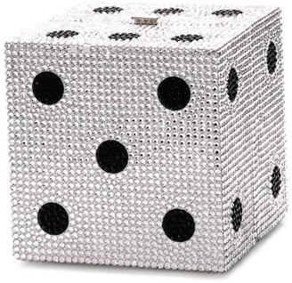 Judith Leiber Cube Dice Clutch Bag