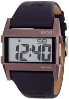 EOS New York Unisex 260SPUR Nocturne Tre Large Digital Display Purple Watch