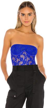 superdown Nikitta Strapless Lace Bodysuit