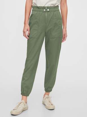 Gap High Rise Utility Cargo Joggers
