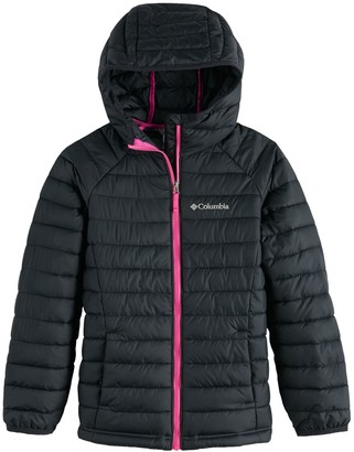 Columbia Girls 4-20 Powder Lite Hooded Jacket